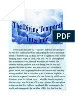 The Divine Temporal Interlude