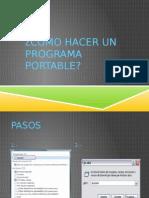 Cómo Hacer Un Programa Portable