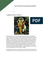 Avadhoota Gita by Dattatreya