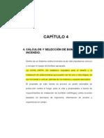 CAPITULO 4 CÁLCULOS Y SELECCIÓN DE BOMBAS CONTRA INCENDIO