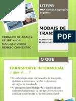 06 - Equipe 2 - Modais de Transporte