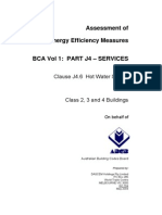 31220 Assessment of Energy Efficiency Measures BCA Volume One Part J4 Services