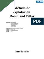 Informe Room and Pillar