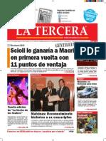 Diario La Tercera 24.09.2015