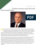 #UCFBusiness Faculty Member and Former Amazon Economist Kicks Off Speaker Series - UCF News - Univer