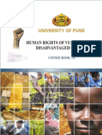 Human Rights of Vulnerable & Disadvantaged Groups