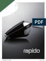Manual ELECTROLUX RAPIDO ZB3103