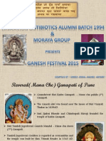Maanache Ganapati and Other Celebrations in Pune
