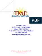 2015 TMF Day Festival Registration Form