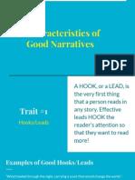 characteristics of good narratives