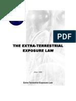 Extra-Terrestrial Exposure Law