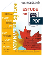Catalogo SGIC St George International College Canada Toronto
