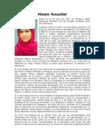 Biografia Malala Yousafzai