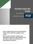 Nutrisi Pada Ibu Hamil (Ppt Rajawali )
