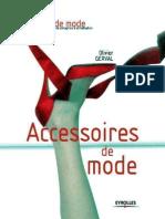 Accessoires de Mode (Carnets de Mode) (French Edition)_nodrm