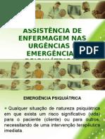 Aula Urgencias e Emergencias Psiquiatricas