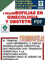 Trombofilias Dr. e.pons