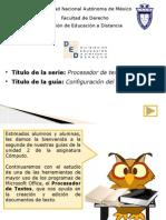 Configuracion Documento u2g2