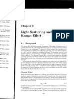 Light Scattering and the raman effect