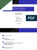 Capitulo 4 Sistema de Archivos (Sistemas Operativos)