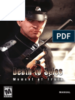 Manual de Juego Death to Spies