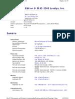Configurações Standard 3 - Dell Optoplex 170L