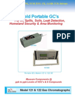 Model 122 Field Portable GC's For IH, Spills, Soils, Leak Detection,  Homeland Security & Area Monitoring