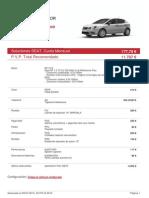 Ibiza 5P 1.0 75 CV (55 KW) 5 Vel Reference Plus
