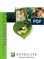 Optimal Health Catalog