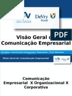 Visão Geral da Comunicação Empresarial