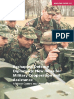 (Adelphi Series) Andrew Cottey-Reshaping Defence Diplomacy_ New Roles for Military Cooperation and Assistance-Routledge (2004)