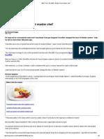 BBC Food - Escoffier_ Britain's First Master Chef