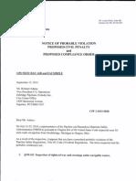 PHMSA Enbridge Compliance Order