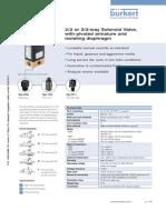DS 0330 Data Sheet solenoide valve