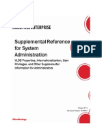 Supplemental Reference for System Administration
