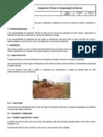 D.en.01 - Limpeza Do Terreno e Compactação de Aterros