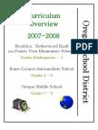 OutcomesK-8 Oregon School District