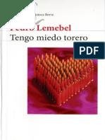 Tengo Miedo Torero, Pedro Lemebel