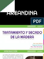 Tratamiento y Secado de La Madera Exp