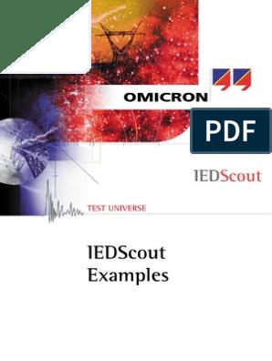 Iendscout OMICRON IEDScout