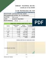 5.2 Analisis Granulometrico de Agregado Grueso