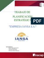 Trabajo Planificacion Estrategica- Empresas Iansa s.a.