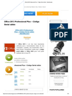 Office 2013 Professional Plus – Código Serial Válido - MaisMacetes