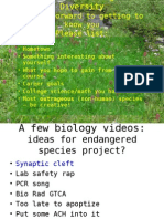 Biological Diversity ppt #1
