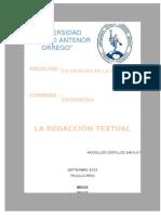 Informe Redaccion Textual