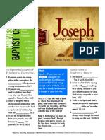 Joseph 1 Gen 34-35 Handout 092715