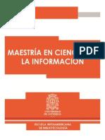 Cartilla Maestría en Ciencia de la Información