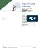 Analisis Estatico Tubo Cuadrado 4x3mm-Sólidos4-Análisis Estático 1-1