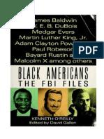 Black Americans the FBI Files