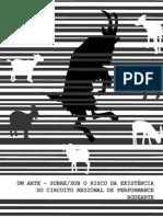 Catálogo de Performances Circuito BodeArte (Edições 1-2-3)